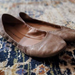 Lucky Brand Leather Ballet Flats | Size 9.5
